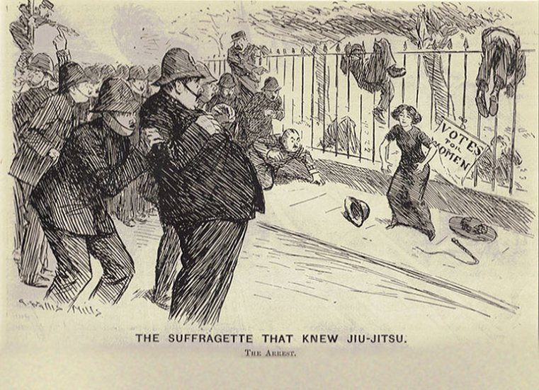 The Rise of the Jujitsu Suffragettes