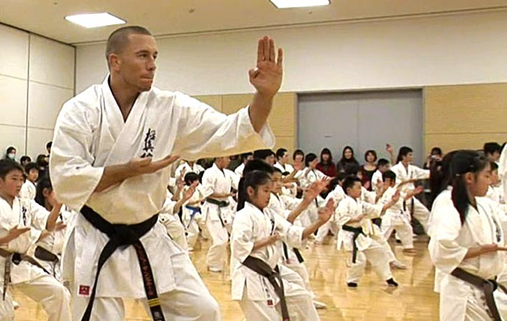 Georges St-Pierre goes back to his karate roots