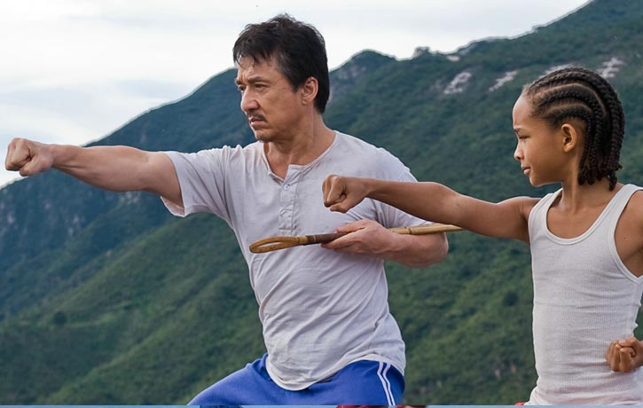 Karate Kid 2010 with Jackie Chan and Jaden Smith