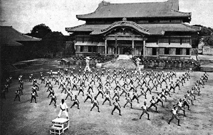 Karate Shuri castle