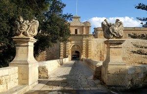 Entrance to the old city of Medina