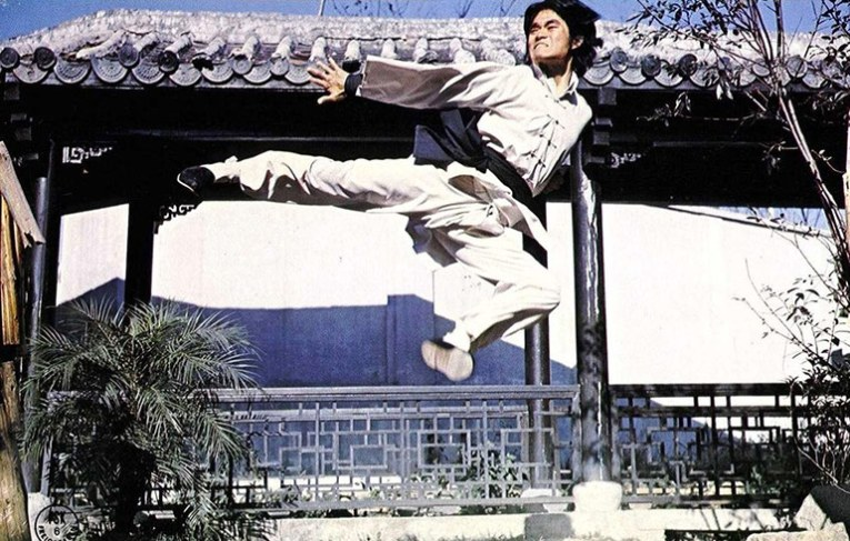 Hsiao literally flies onscreen!
