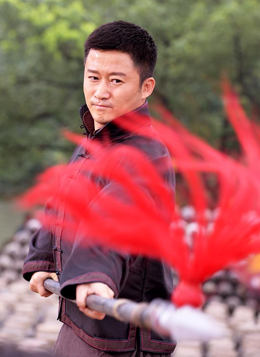 Cheung is a master of the spear