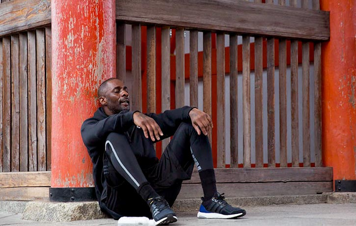 There were times when Idris questioned his commitment