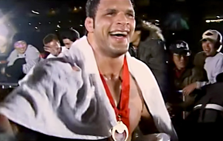 Kerr was a favourite in Japan's Pride Fighting Championships