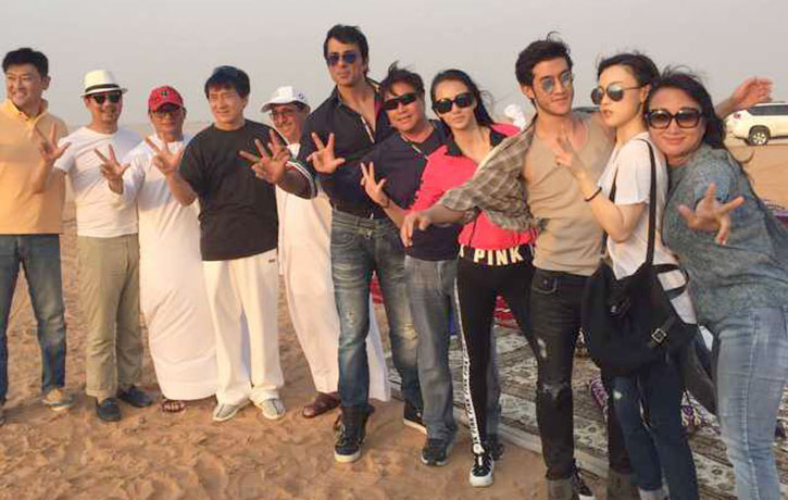 Kung Fu Yoga also went to Dubai!