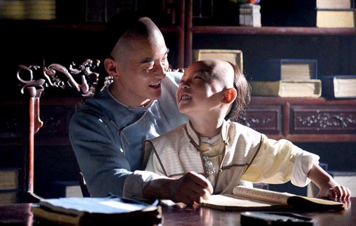 The proud and loving father of a young son, Wong Fei-hung