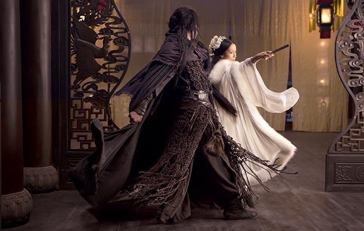 3D tricks are evident in a Jianshu-style fight with Mu-Yung Chiu-Ti