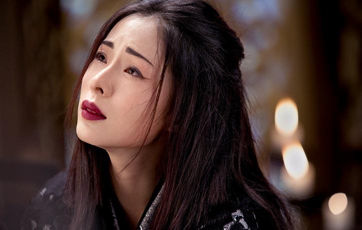 Jiang Yiyan stars as Mu-Yung Chiu-Ti