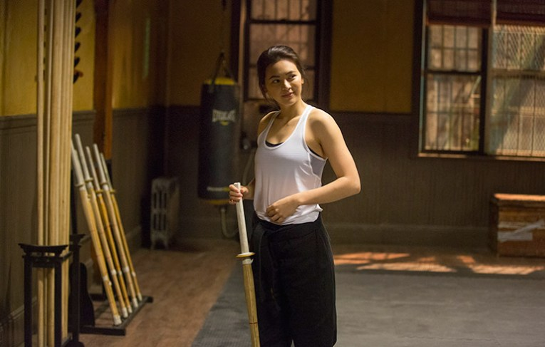 Colleen Wing is impressed with Danny's kung fu