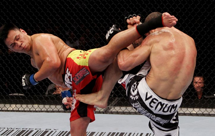 Cung Le has dropped many Octagon foes with his amazing spinning kicks