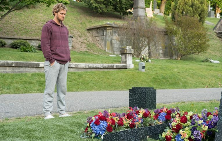 Danny visits his deceased mother and father