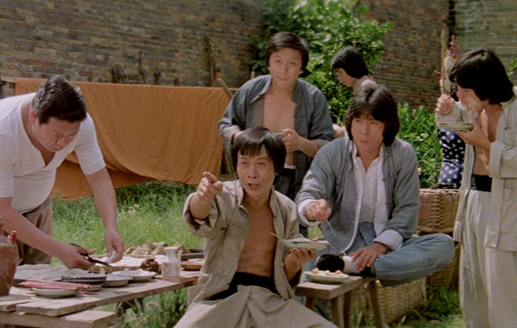 Look! It's Drunken Master in high definition!