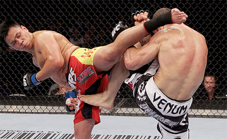 Top 5 MMA Finishes – Cung Le