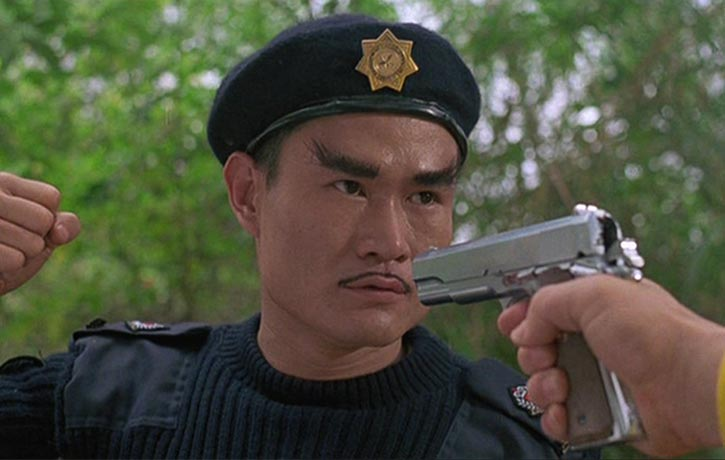 Lam Ching Ying commands the SWAT team