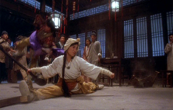 Michelle Yeoh is as good as ever in the action scenes