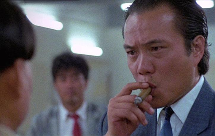 Veteran star James Tien stars as gang boss Mr Kim