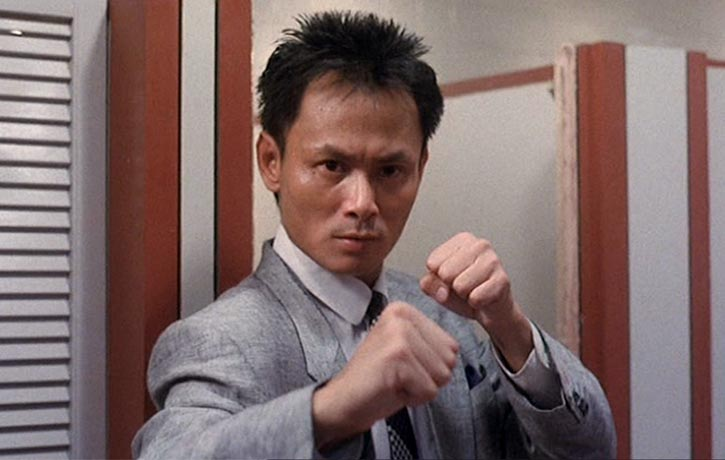 Gordon Liu plays a ruthless hitman
