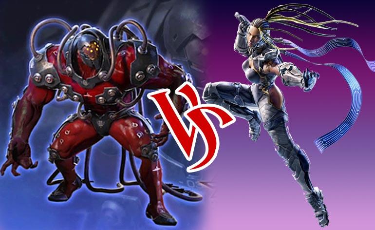 Tekken 7: Tale of the Tape – Gigas vs Master Raven