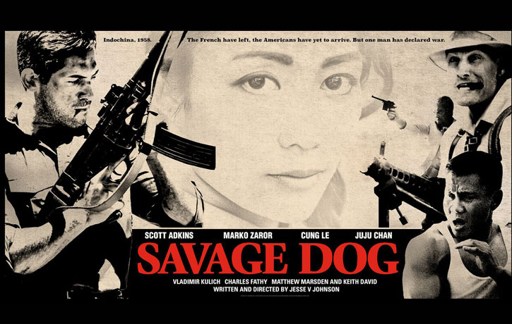 Savage Dog poster - Movie out on 4th Aug 2017