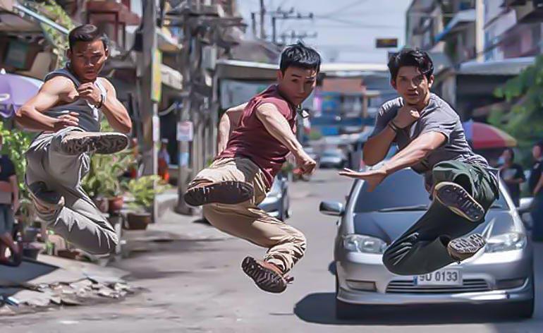 Triple Threat trailer - Kung-Fu Kingdom