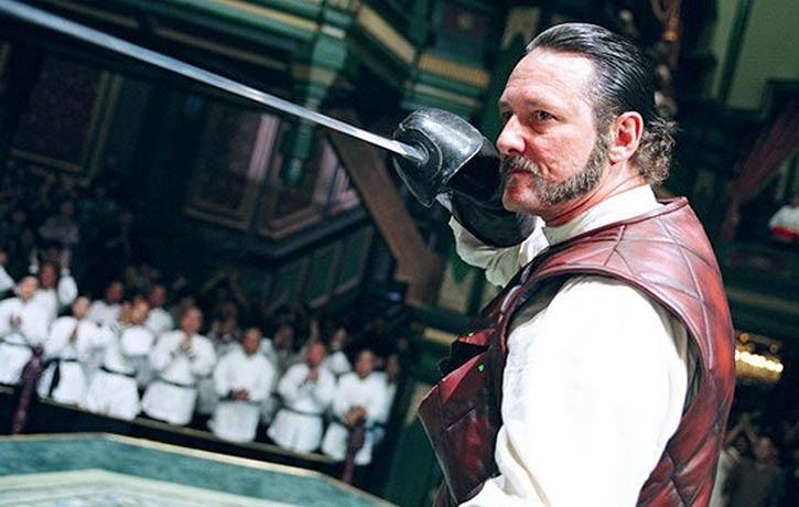 Anthony De Longis as Anthony Garcia a Spanish sword fencer