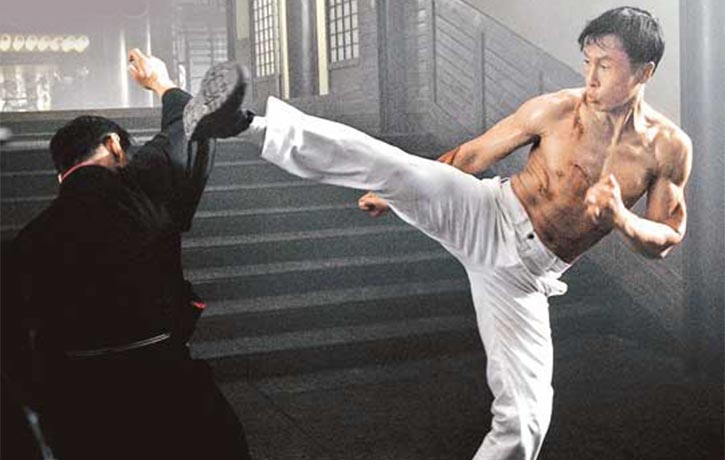 Bruce Lee style mixed with Donnie Yen's