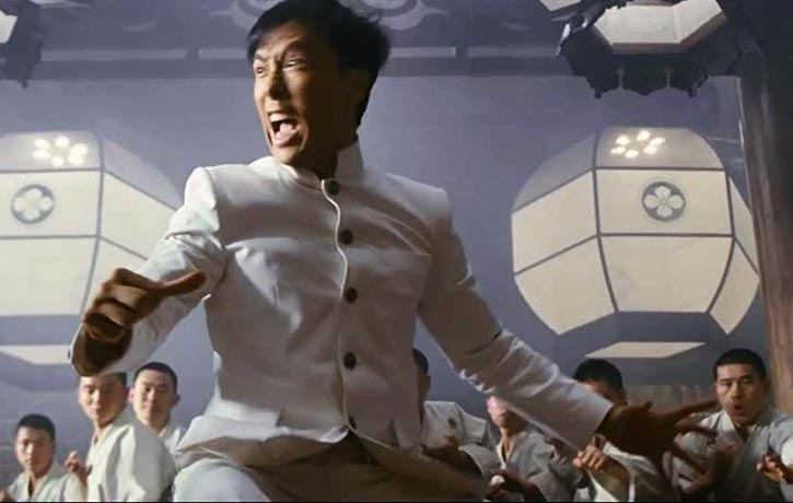 Even Bruce Lee's screeches are included!