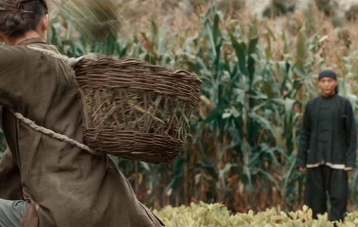 Even the farmers use 'gung fu'