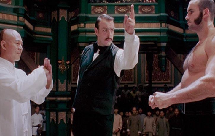 Hong Kong film expert Mike Leeder has a cameo as the referee