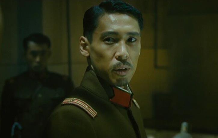 Kohata Ryu plays the ruthless Colonel Chikaraishi Takeshi