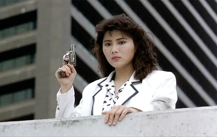 Cynthia Khan makes a brief appearance as Inspector Yeung
