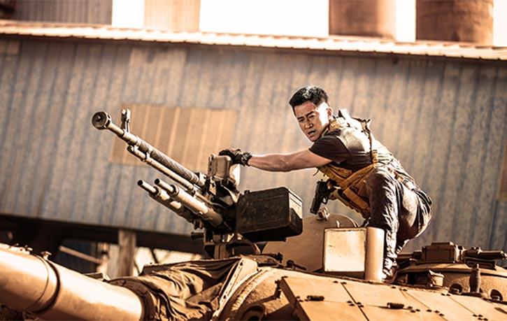 Leng Feng prepares to launch an assault