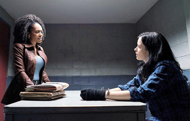 Misty interrogates Jessica