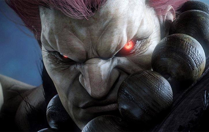 Akuma arrives for the King of Iron Fist tournament