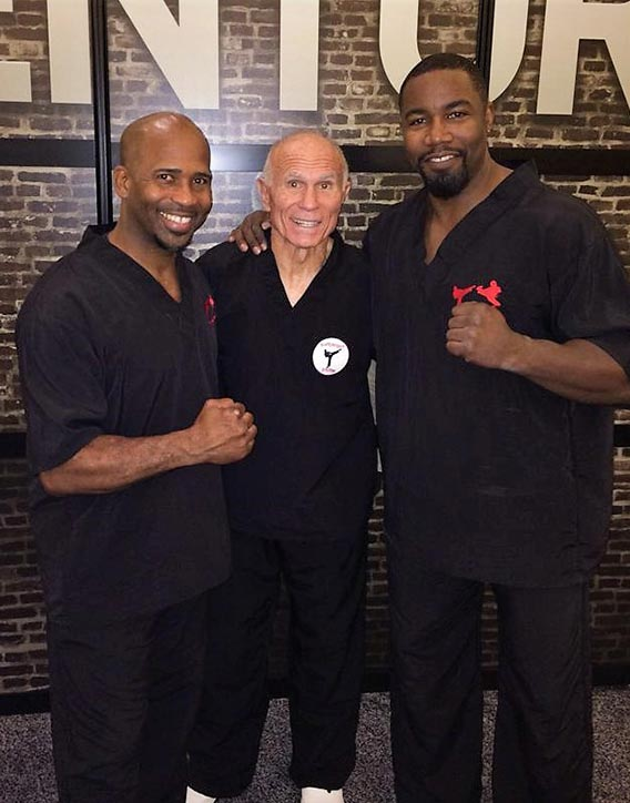 Bill is good friends with Michael Jai White