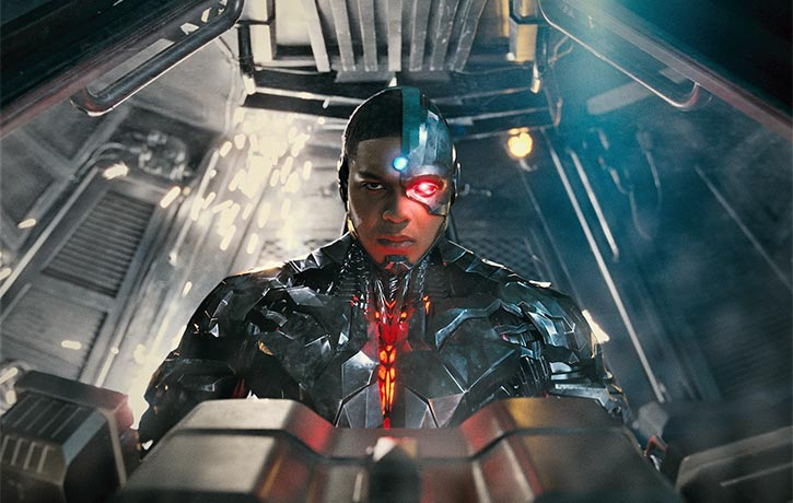 Cyborg is one with Batman's tech