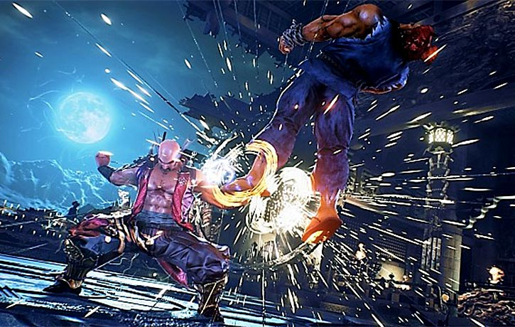 Fated retribution! Heihachi vs Akuma