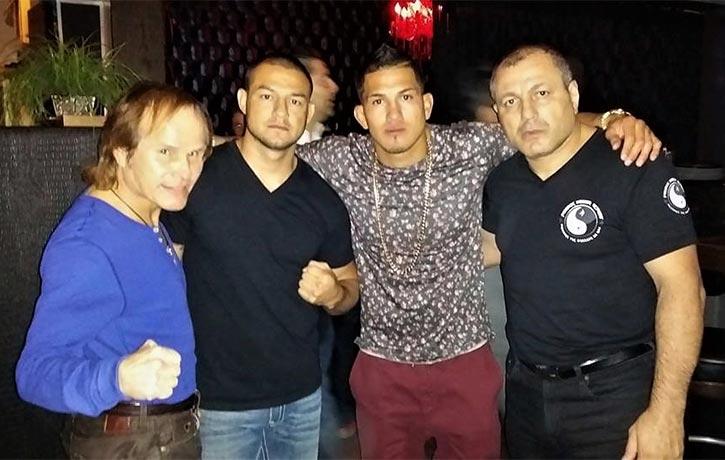 Gokor's friends include kickboxing legend Benny The Jet Urquidez