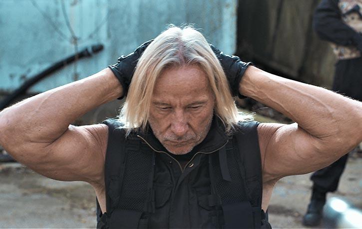 80's martial arts movie legend Matthias Hues!