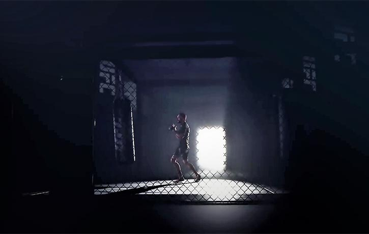 Behind every great fighter is years of training that no one sees...