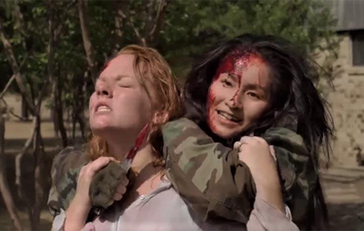 Sakura holds Lisa hostage!
