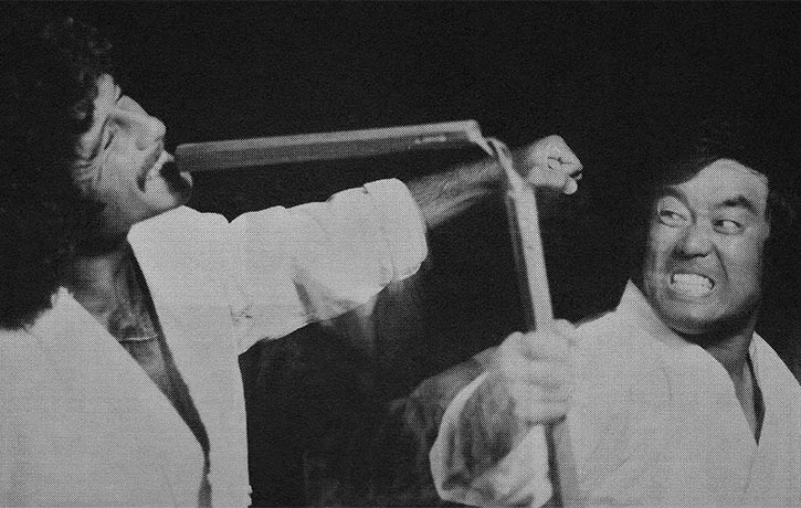 Catching and hooking with the Nunchaku
