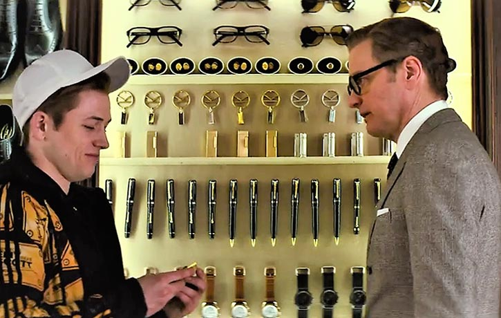 Harry sees great potential in Eggsy