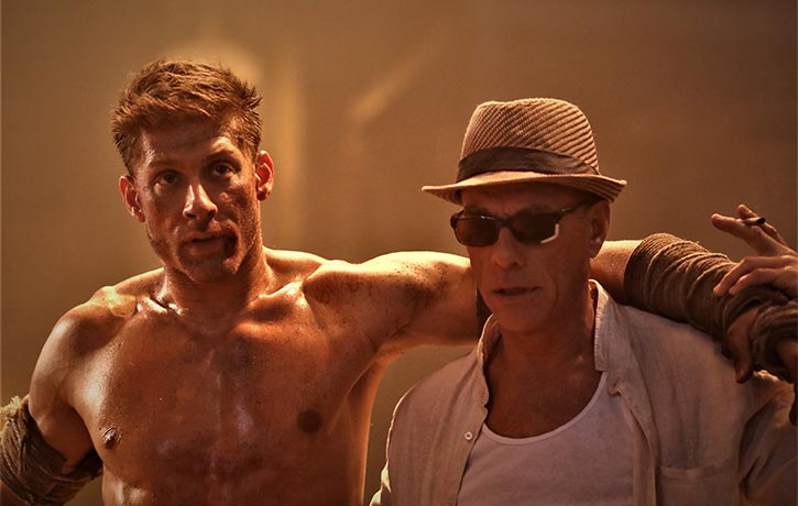 Kurt with mentor Durand played by JCVD
