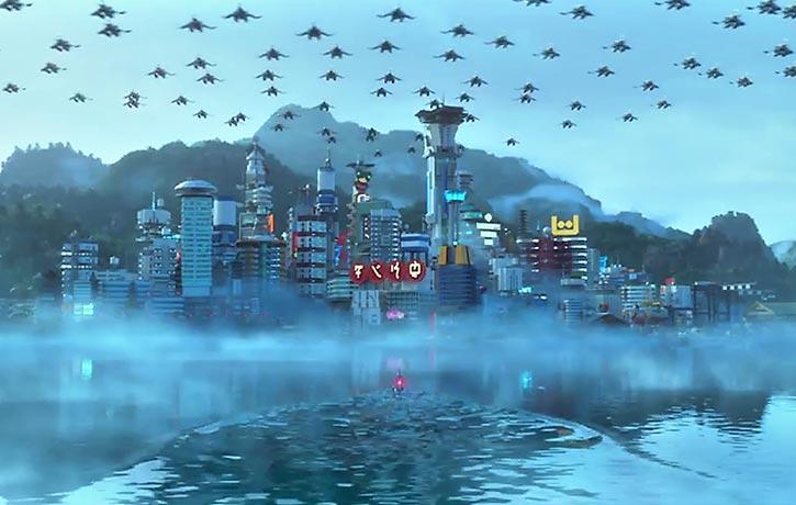 Lord Garmadon's forces invade Ninjago!
