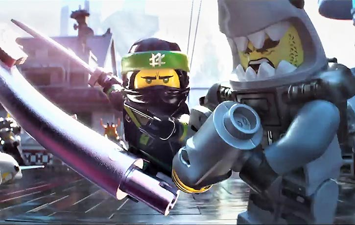 Ninjago is defended by Ninja warriors!