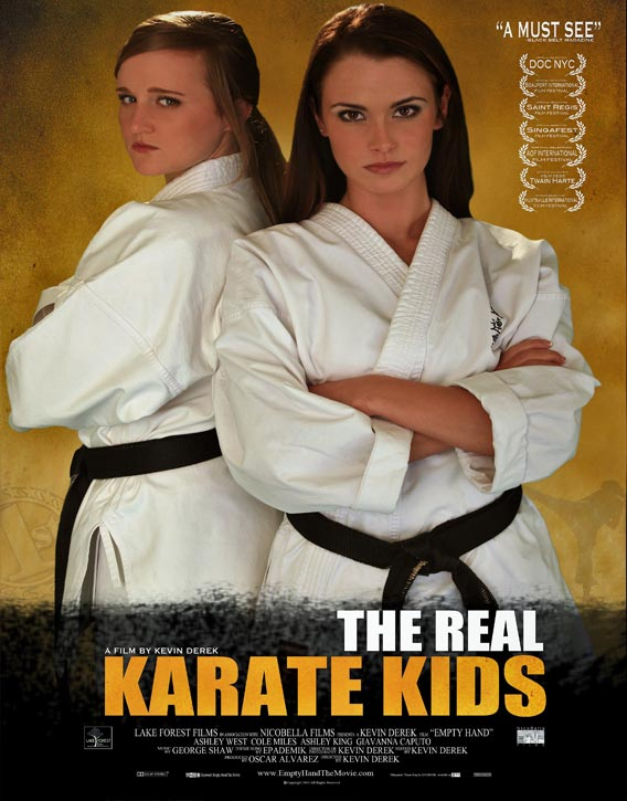 Poster for Empty Hand -The Real Karate Kids
