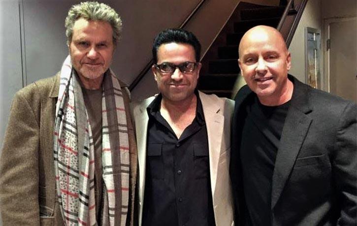 With Martin Kove & Ron Thomas