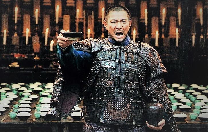 Andy Lau does a toast worthy job!